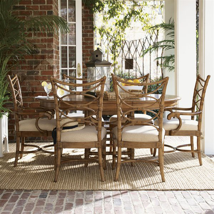 beachy dining room tables photo - 1