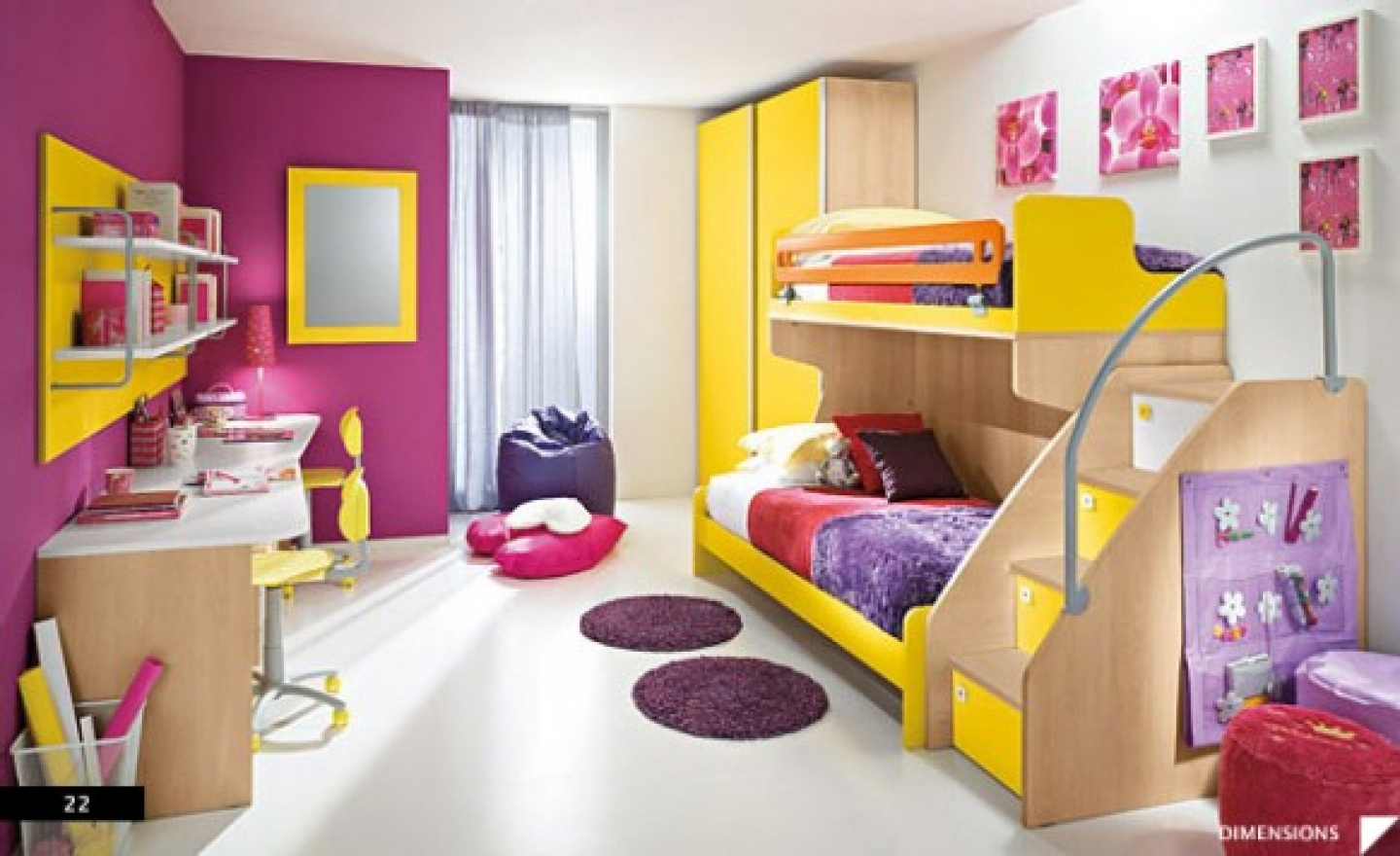 Beautiful Bedrooms For Girls Photo   1