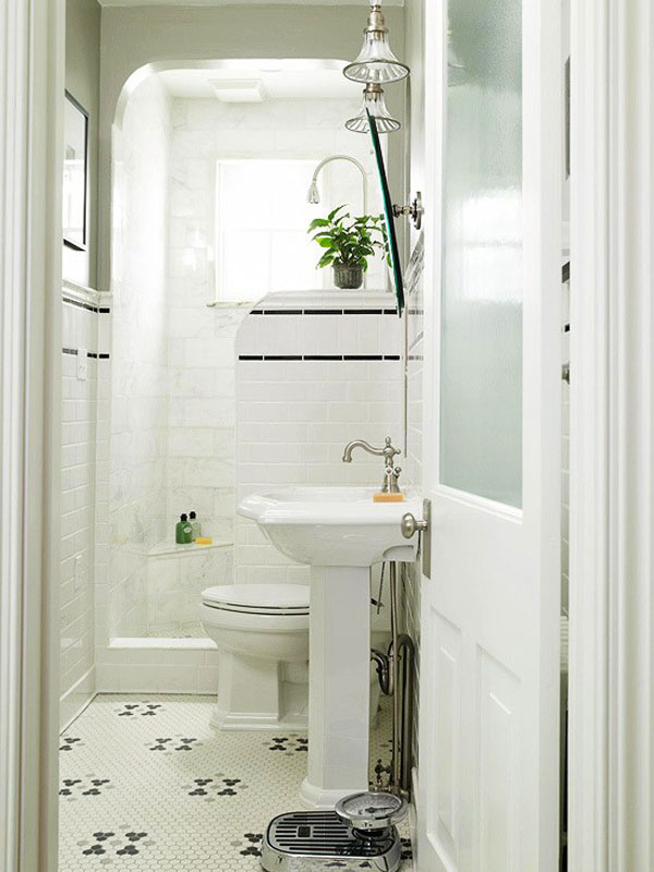 Beautiful small bathrooms