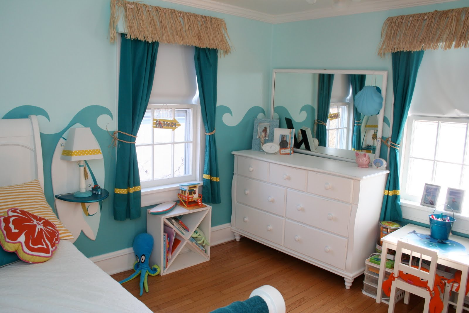 bedroom beach theme photo - 1