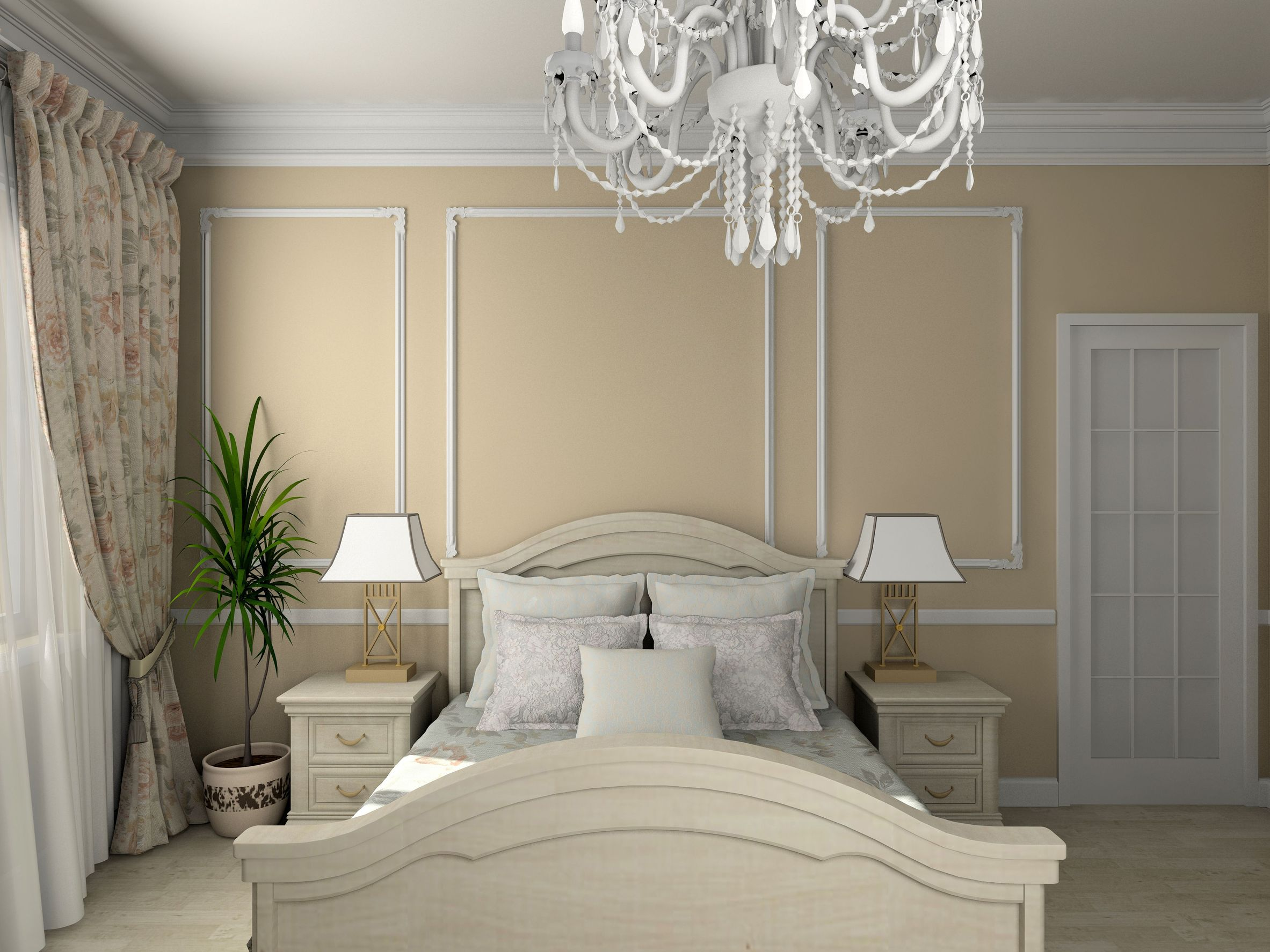 Bedroom chandelier ideas large and beautiful photos for Bedroom chandelier ideas