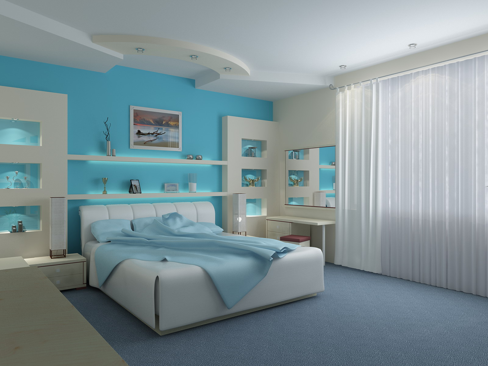 bedroom color meanings photo - 2