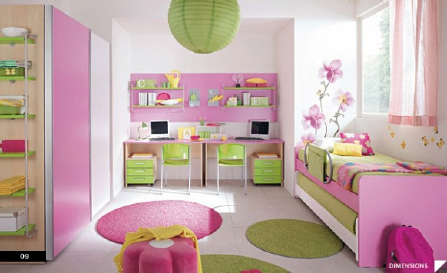 bedroom decorating ideas for girls photo - 2