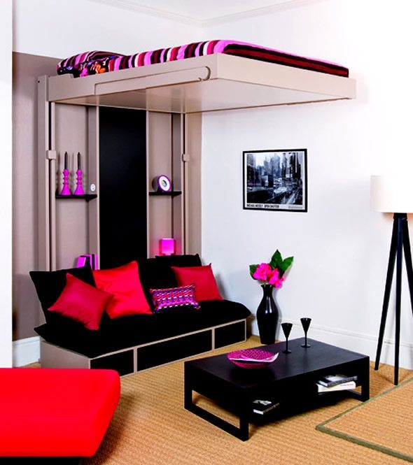 bedroom ideas for teenage girls with small rooms photo - 2