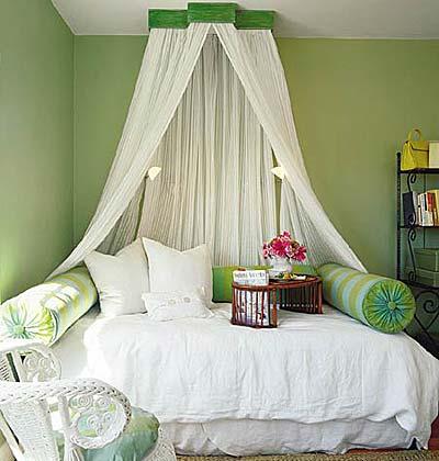 bedroom wall canopy photo - 2