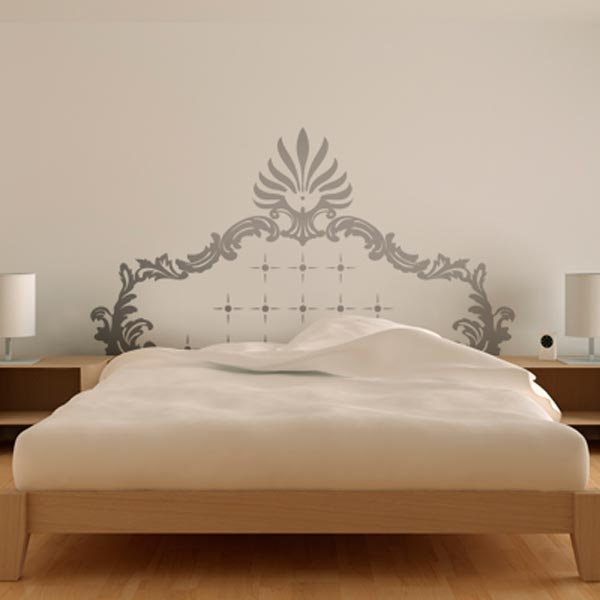 bedroom wall decal photo - 2
