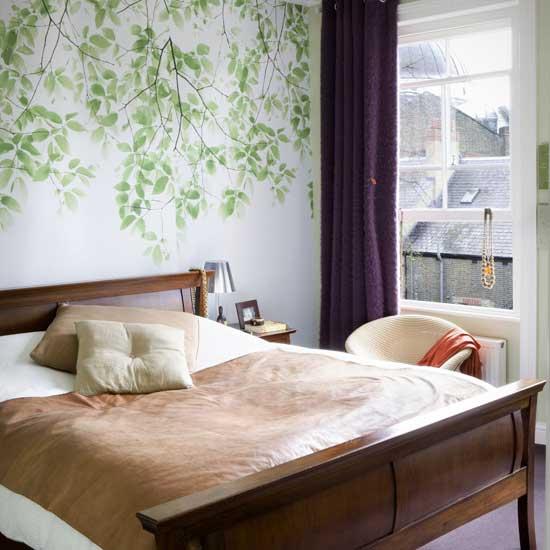 bedroom wall designs photo - 1