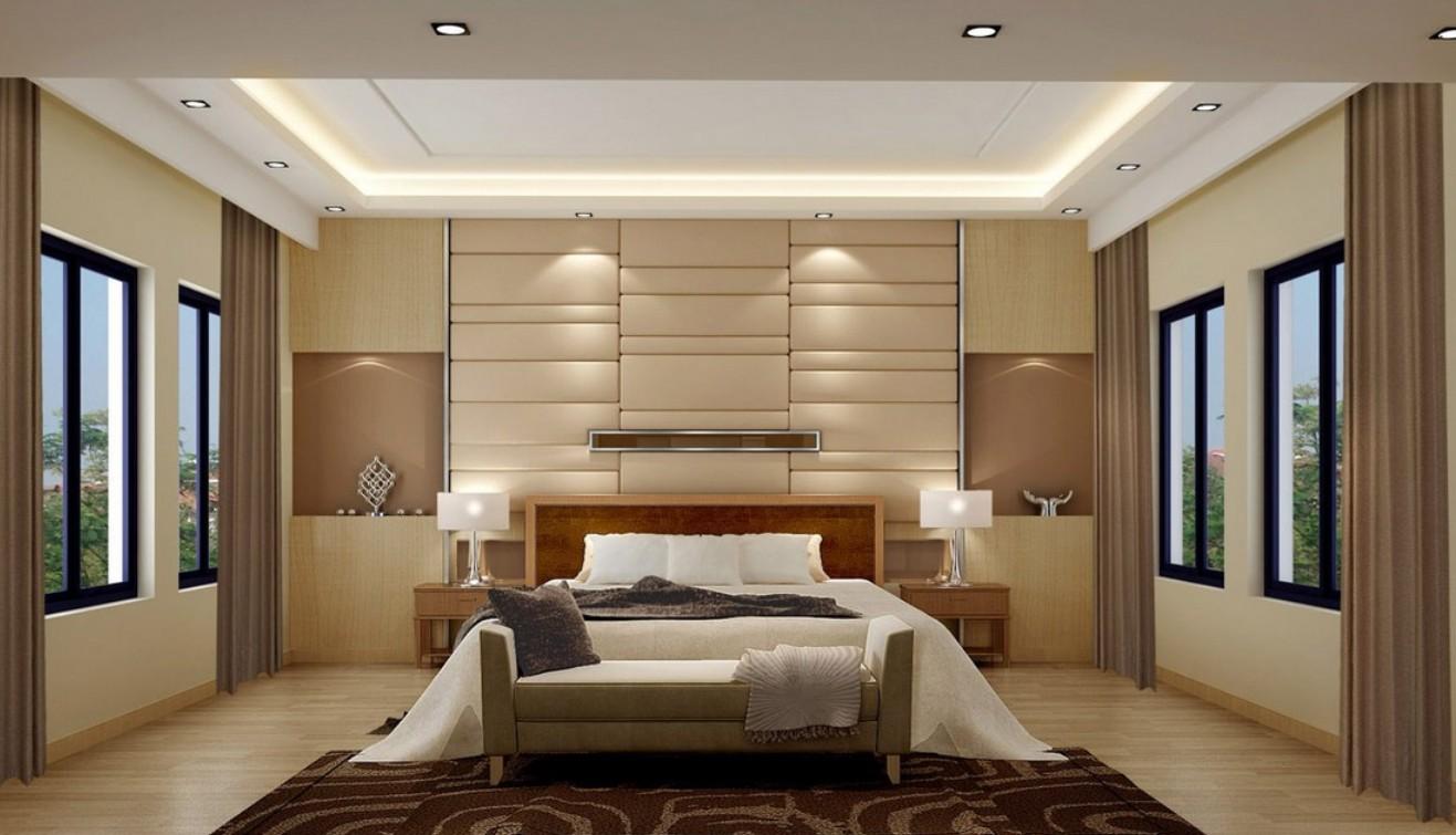 bedroom wall designs photo - 2