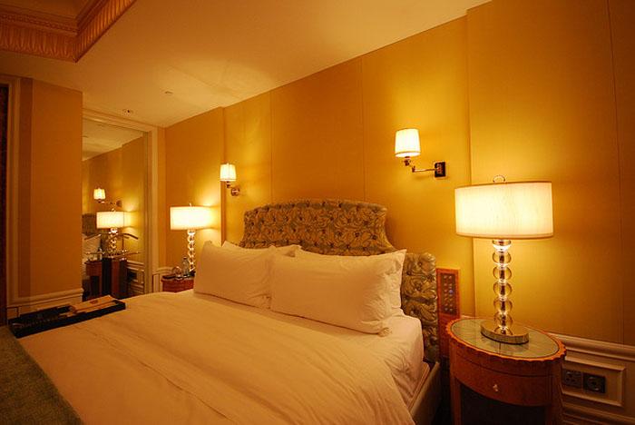 bedroom wall lighting photo - 2