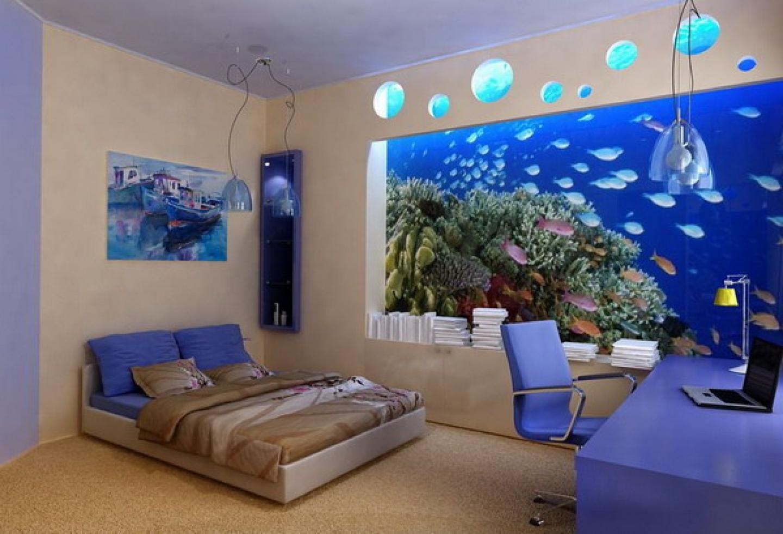 Bedroom Wall Mural Ideas Photo   2