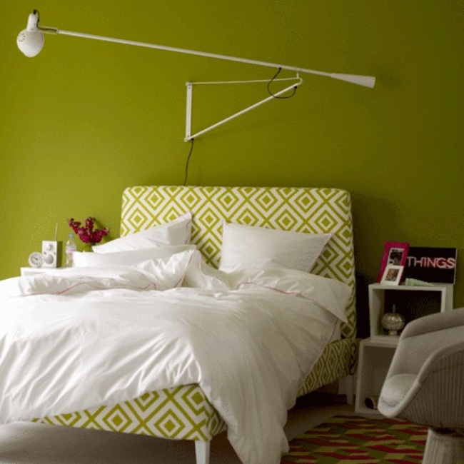 bedroom wall paint photo - 2