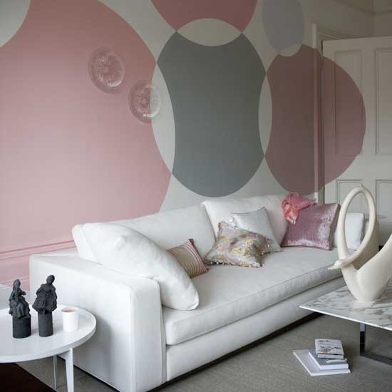 bedroom wall paint designs photo 2