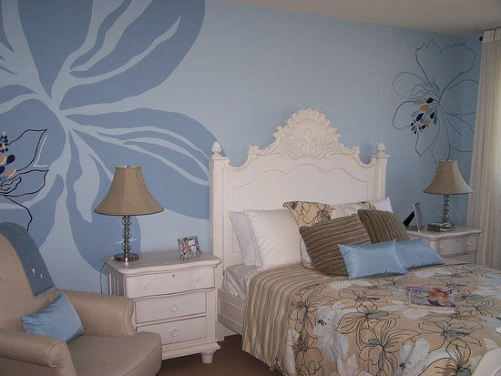 bedroom wall painting designs photo - 2