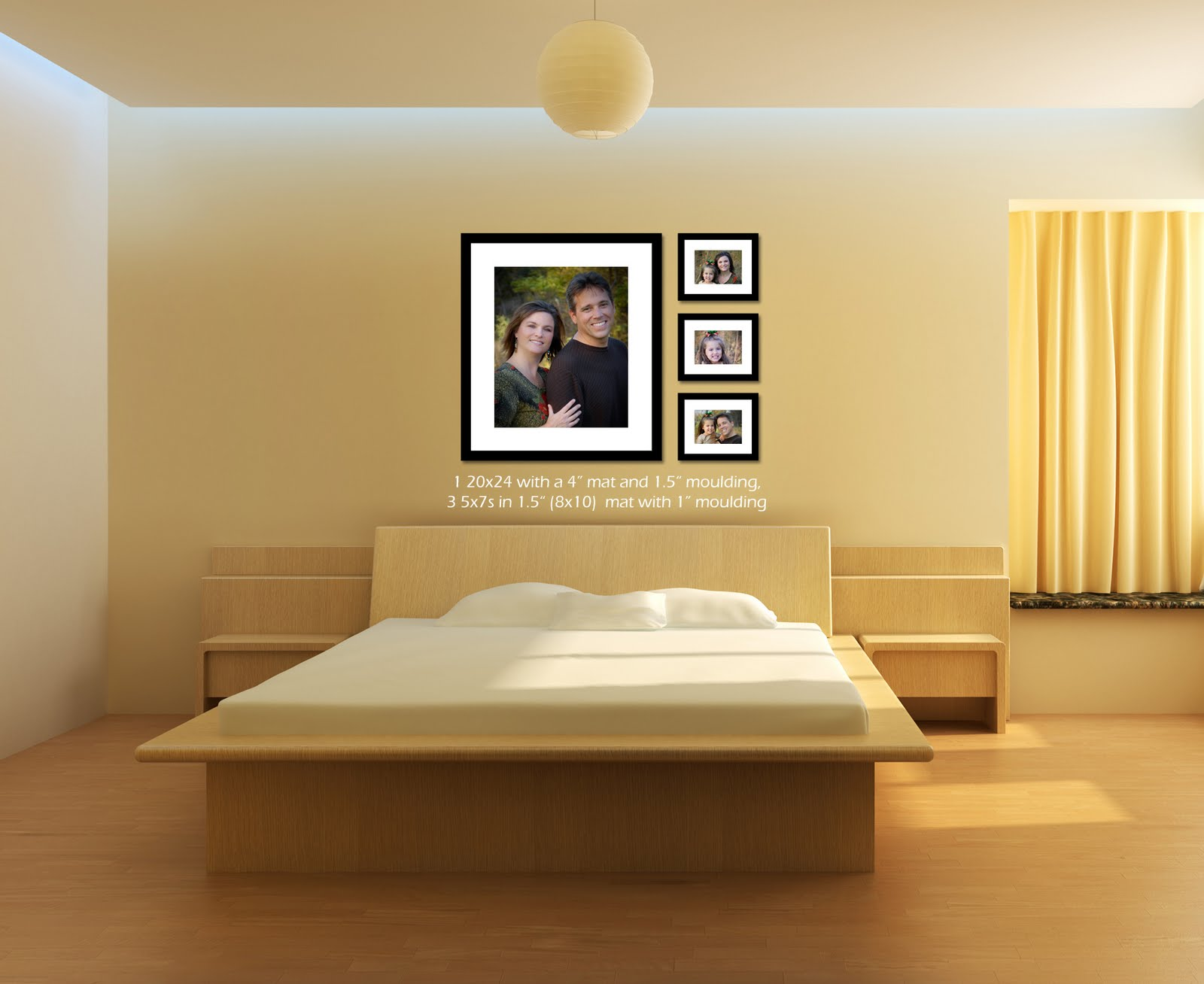 bedroom wall pictures photo - 1