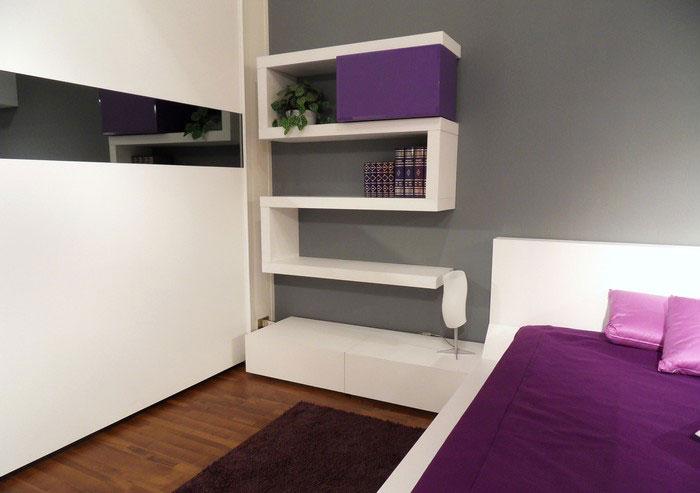 bedroom wall shelves photo - 1