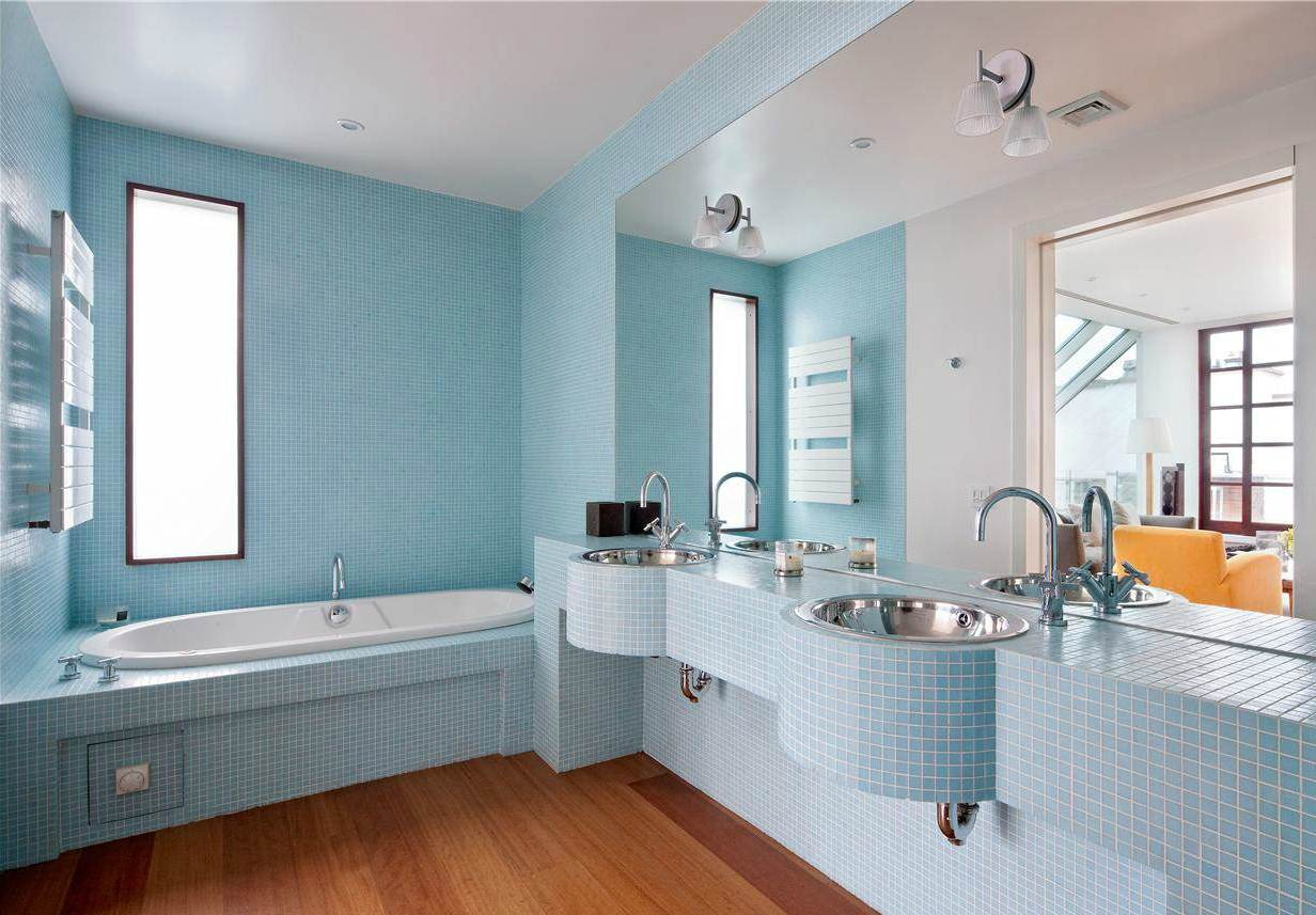 best bathroom flooring photo - 1