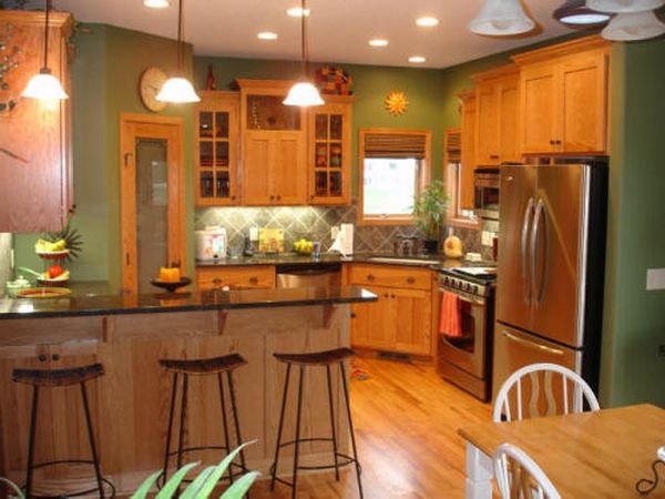 best paint colors for small kitchens photo - 1