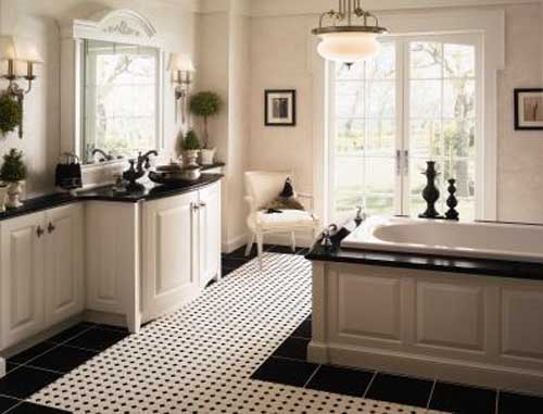 ... Black And White Bathroom Designs ...