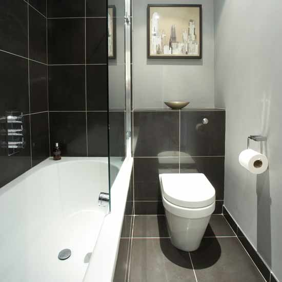 Black Bathrooms   Large And Beautiful Photos. Photo To Select Black  Bathrooms | Design Your Home