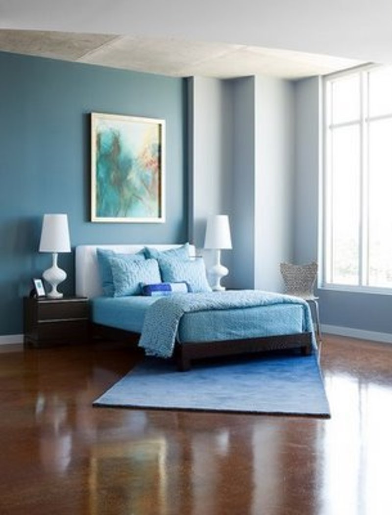 blue bedroom color schemes photo 2 - Bedroom Color Schemes