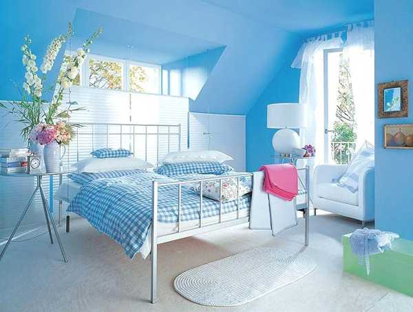 Blue bedroom paint color ideas - large and beautiful photos ...