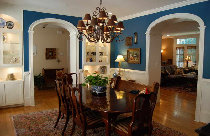 blue dining room ideas photo - 1