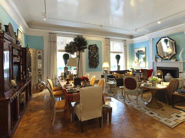 blue dining room ideas photo - 2