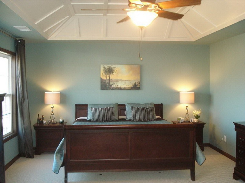 blue paint colors for master bedroom photo - 2