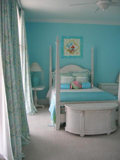 blue teenage girl bedroom ideas photo - 2
