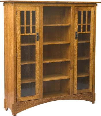 bookcase in dining room photo - 2