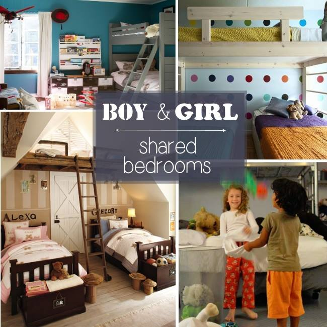 Boy And Girl Shared Bedroom Ideas Photo   2