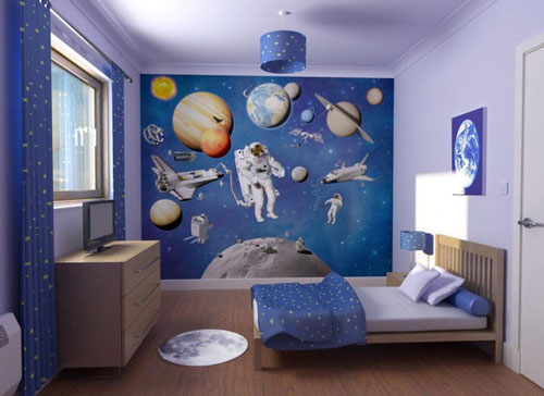 Boys bedroom wall decor - large and beautiful photos. Photo to ...