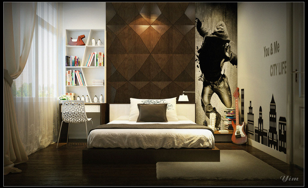 boys bedroom wall decor photo 2 - Bedroom Wall Designs For Boys