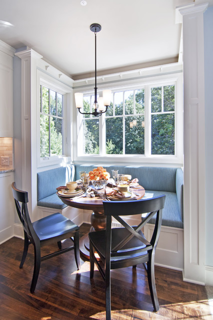 breakfast nooks for small kitchens photo - 2