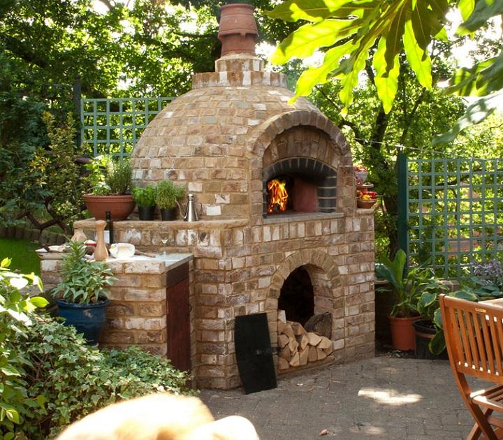 Brick Oven Backyard