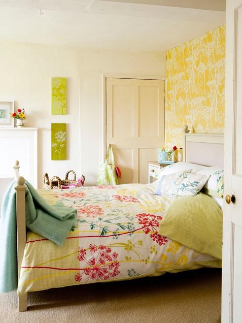bright bedroom colors photo - 1