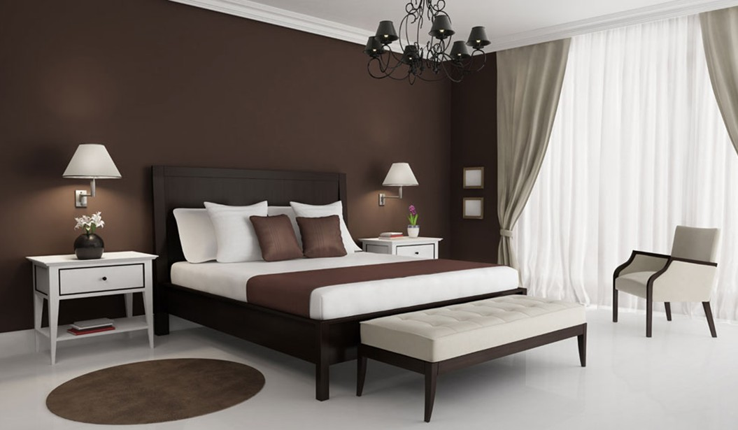 brown bedroom walls photo 2 brown bedroom walls large and beautiful photos photo to select - Color Bedroom Design