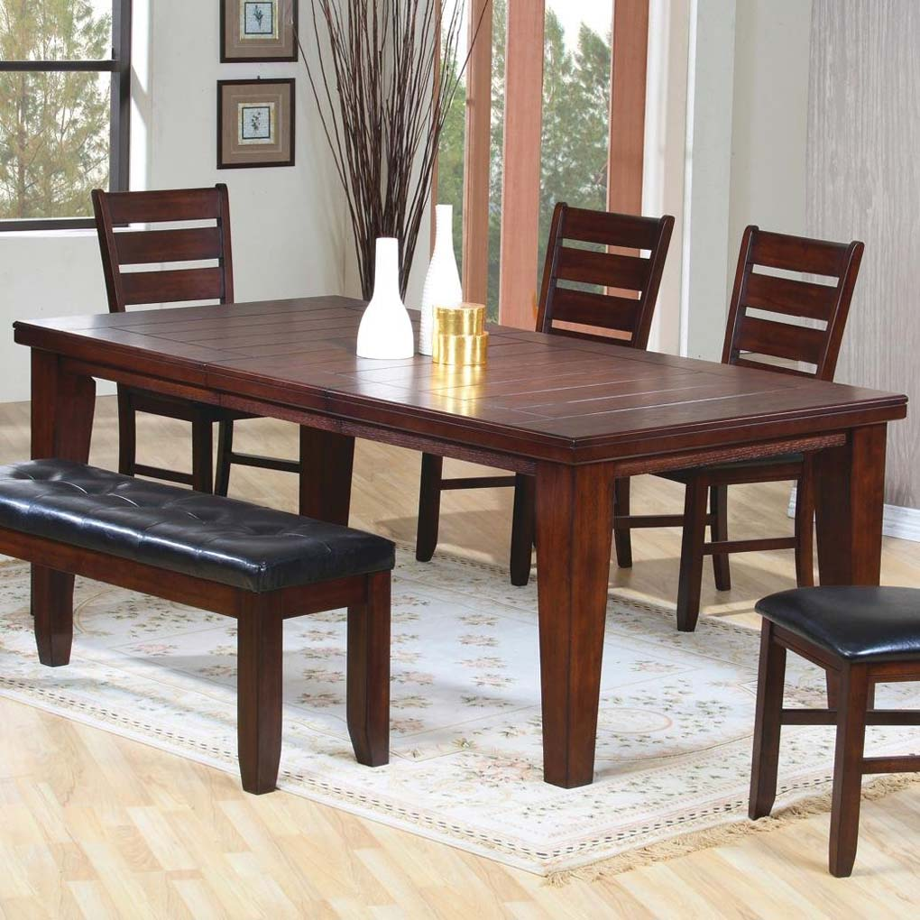 brown dining room photo - 1