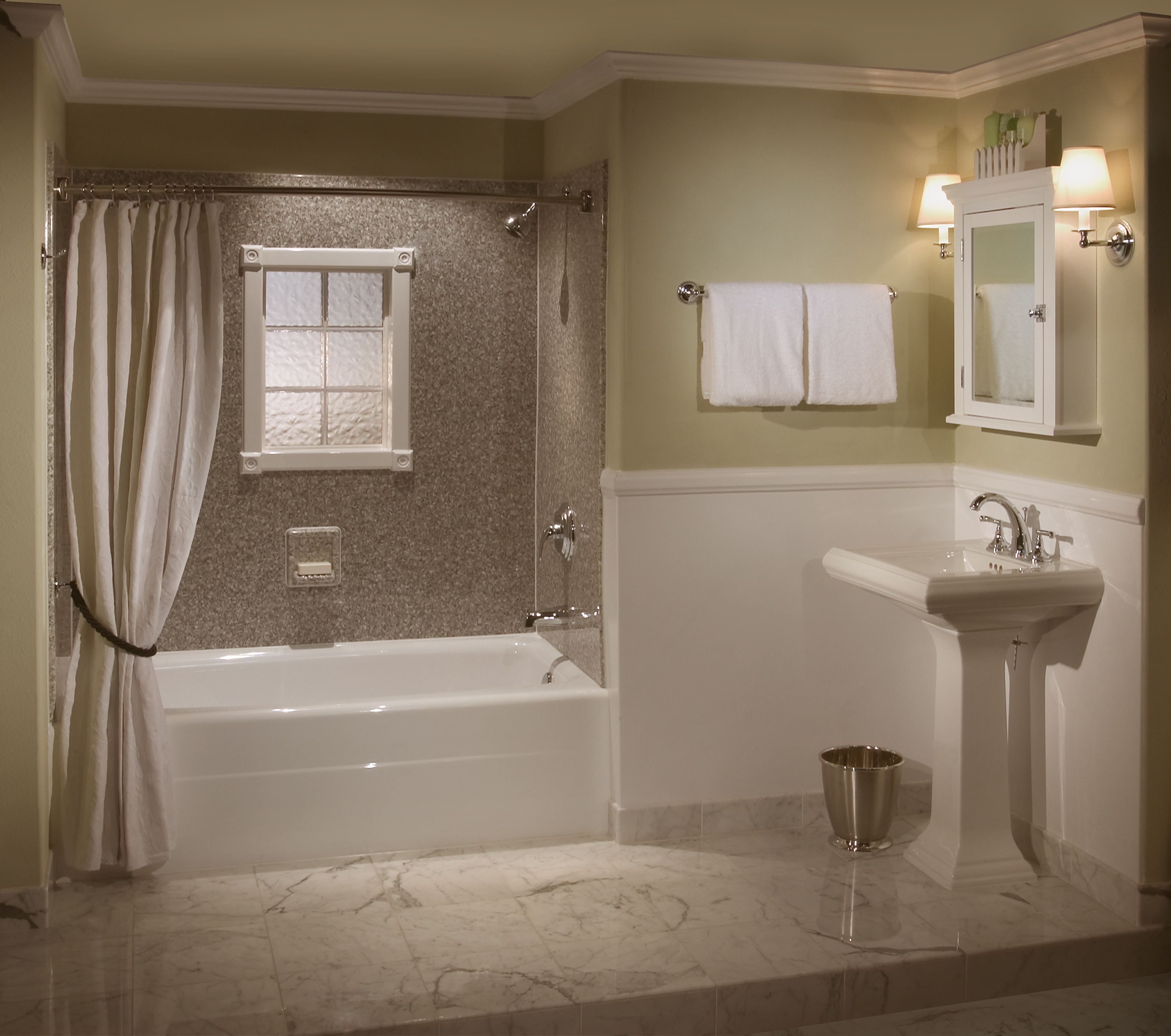budget bathroom remodel ideas photo - 1