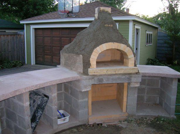 Merveilleux Build A Backyard Pizza Oven Photo   2