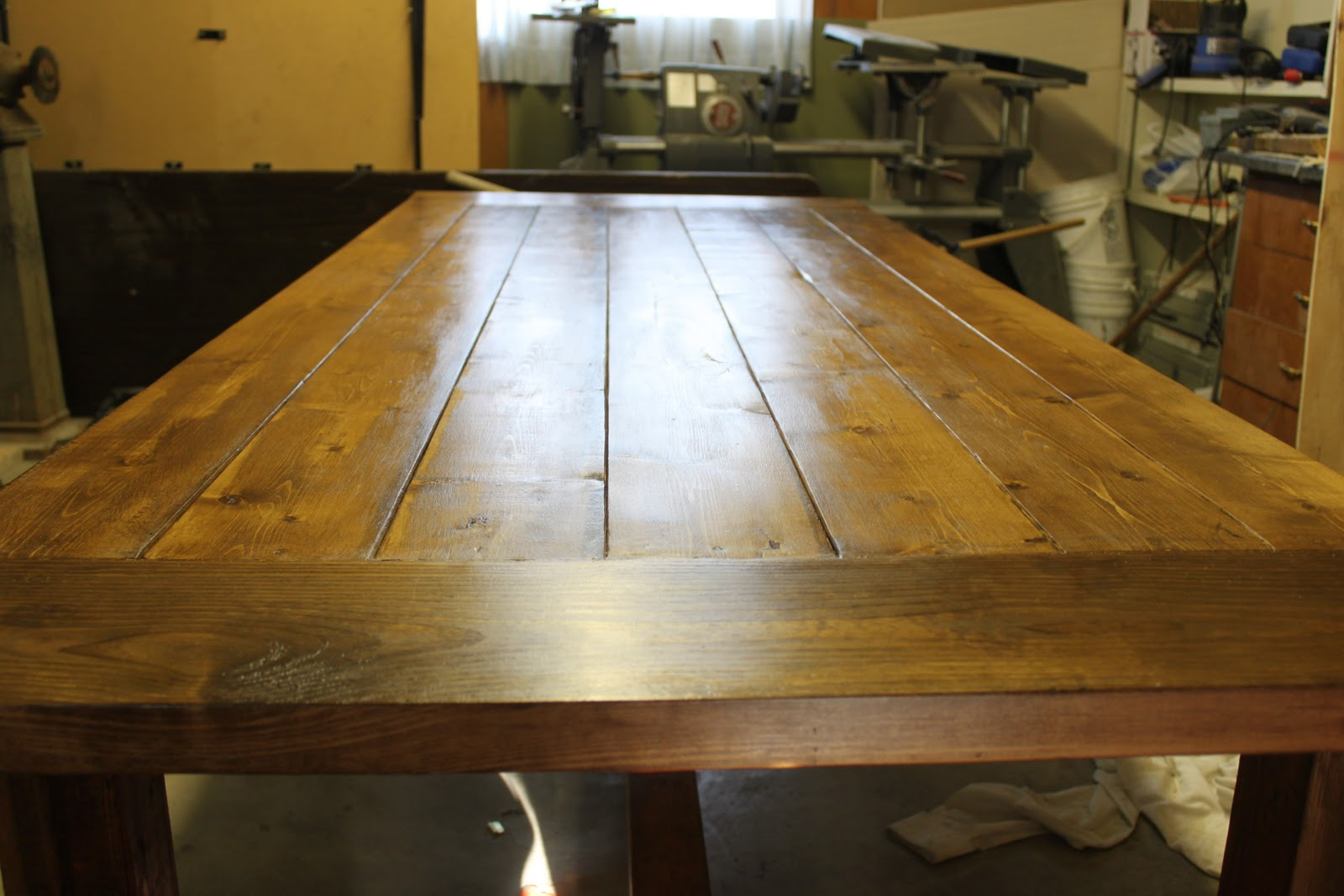 build a dining room table photo - 2