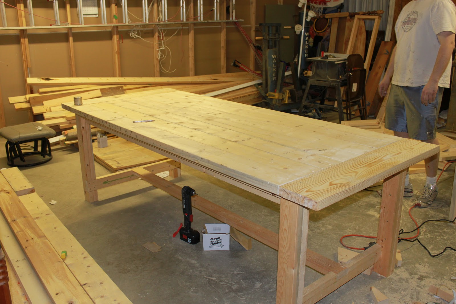 build dining room table photo - 1