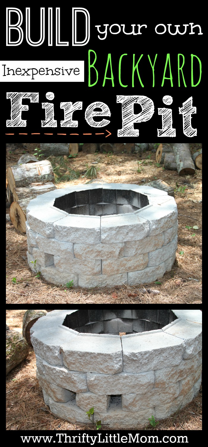 build your own backyard fire pit photo - 2