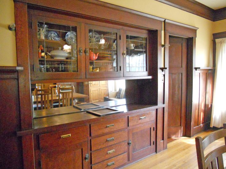 Built In Dining Room Hutch Photo   2