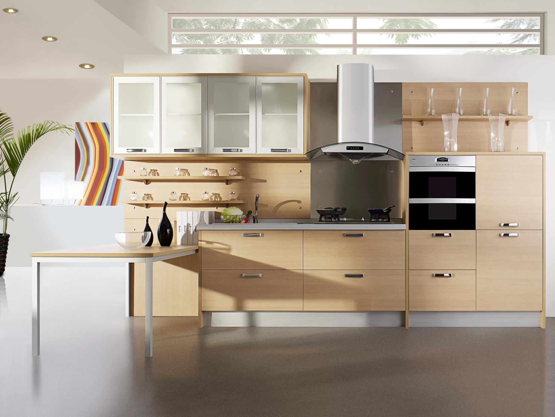 cabinet designs for small kitchens photo - 2