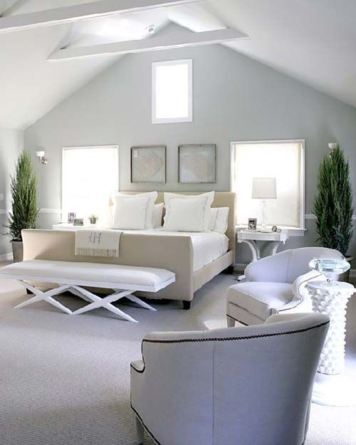 calming paint colors for bedroom photo - 2