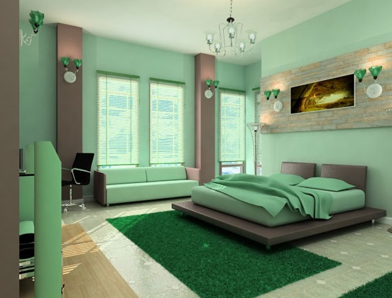 calming paint colors for bedrooms photo - 2