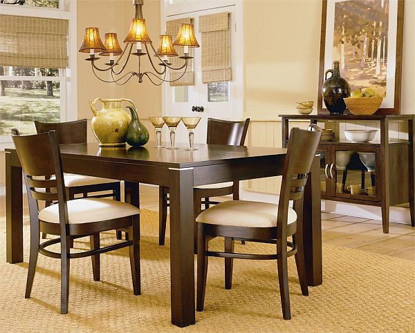 casual dining room decorating ideas photo 2 - Dining Room Decor Ideas