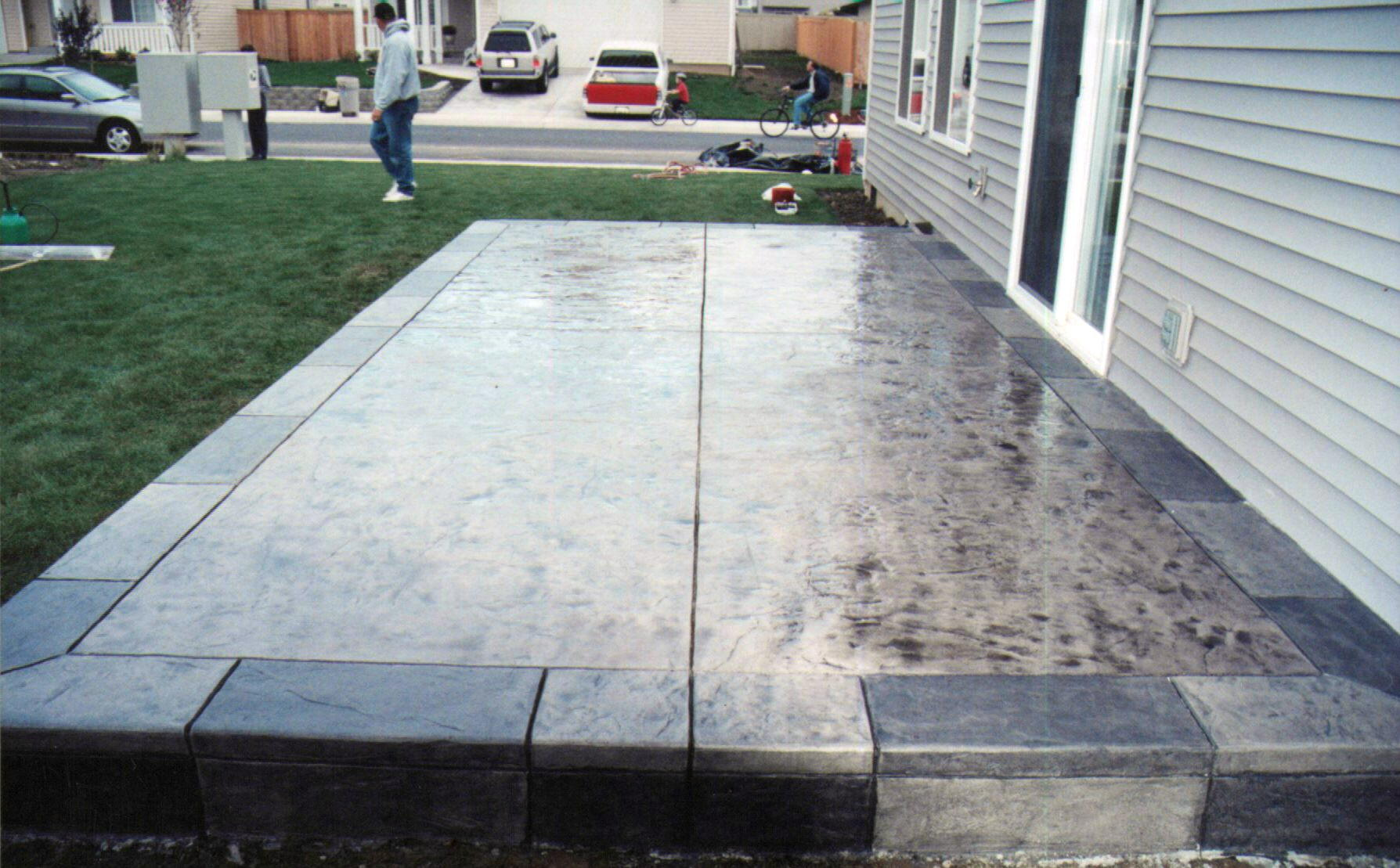 Beautiful Concrete Patio Design Ideas Images - moonrp.us - moonrp.us