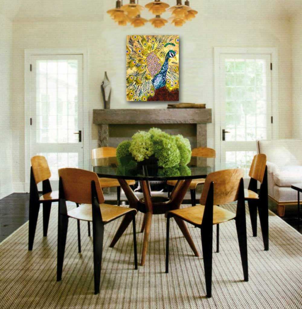 centerpiece dining room table photo - 1